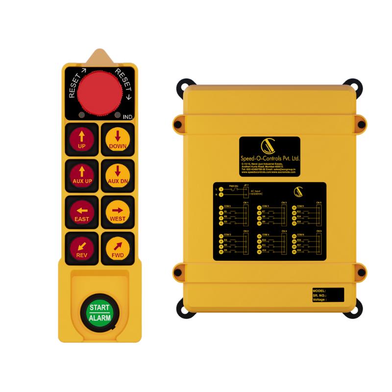 Sky 402 Single Radio Remote Control System