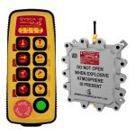 Flame Proof Sysca 8 Radio Remote Control System