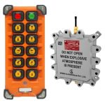 Flame Proof Impact 501 Radio Remote Control System