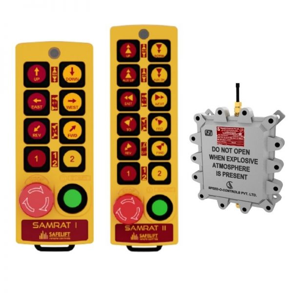 Flame Proof Samrat Radio Remote Control System - Gas Group IIA/IIB